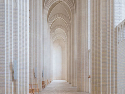 Ludwig Favre, 'Copenhagen Church', 2020