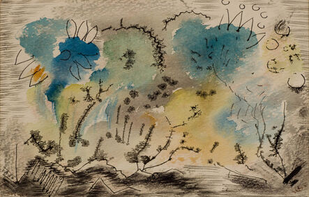 Werner Drewes, 'Composition A54', 1935