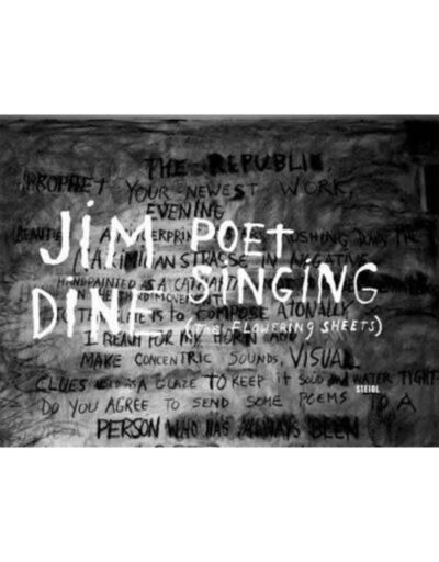Jim Dine, 'Poet Singing the Flowering Sheets by Jim Dine', 2008