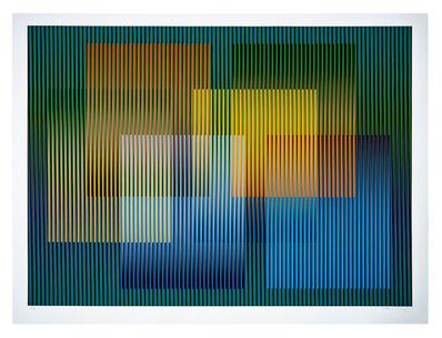 Carlos Cruz-Diez, 'Color Aditivo Elorsa', 2018