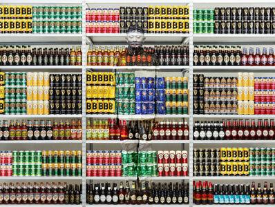Liu Bolin, 'Hiding in London No. 5 - Beer Rack, 2014'