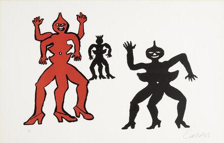 Alexander Calder, 'Une famille de là-bas', 1970