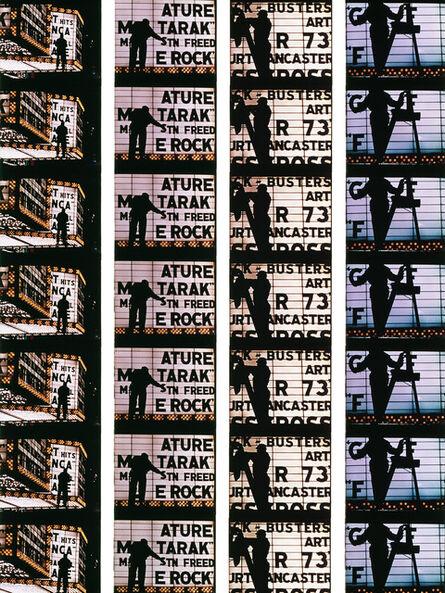 William Klein, 'Film Strips from Broadway by Light #4', 1958