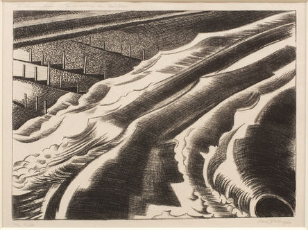 Paul Nash, 'The Tide', 1920