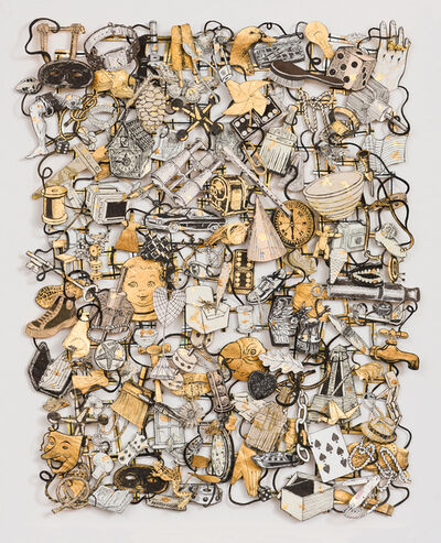 Jane Hammond, 'Loose Tapestry of Daily Life (Diamond Ring)', 2016