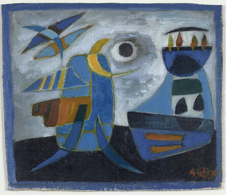 Werner Drewes, 'Untitled Abstract I', 1943