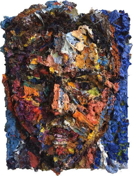 Mark Lewis (b. 1959), 'Head (self-portrait)', 2018