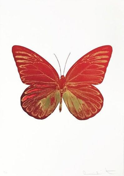 Damien Hirst, 'The Souls I, Chillired-Orientalgold', 2010