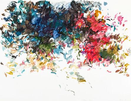 Uwe Kowski, 'hinterm Haus', 2019