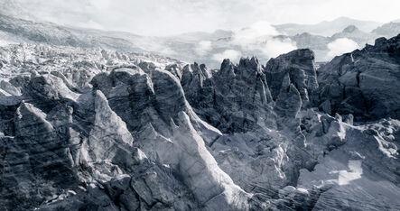 Jacques Pugin, '#41 glaciers offset Glacier de Ferpècle', 2017