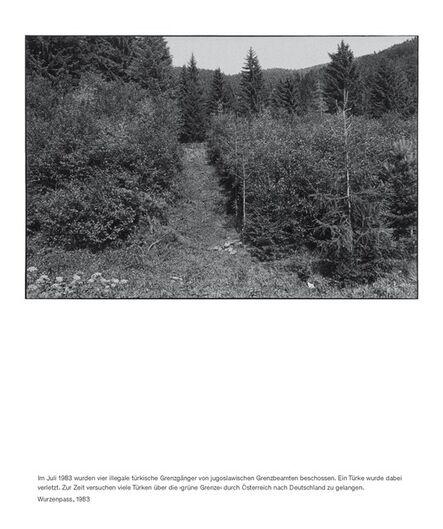 Seiichi Furuya, 'Staatsgrenze 1981-1983 (Wurzenpass)', 2016