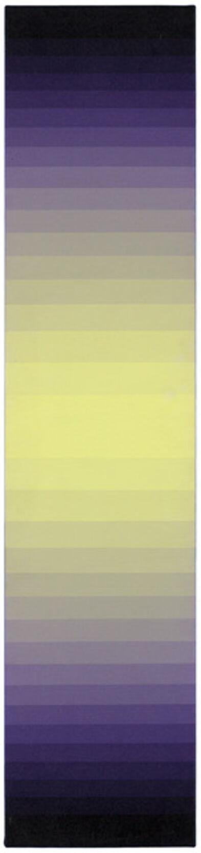 Norman Zammitt, 'Yellow to Violet II', 1978-1981