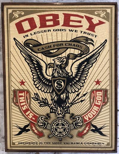 Shepard Fairey, 'Lesser Gods Eagle', 2003