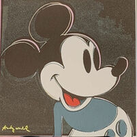 Andy Warhol, 'Mickey Mouse (Black)', 1986
