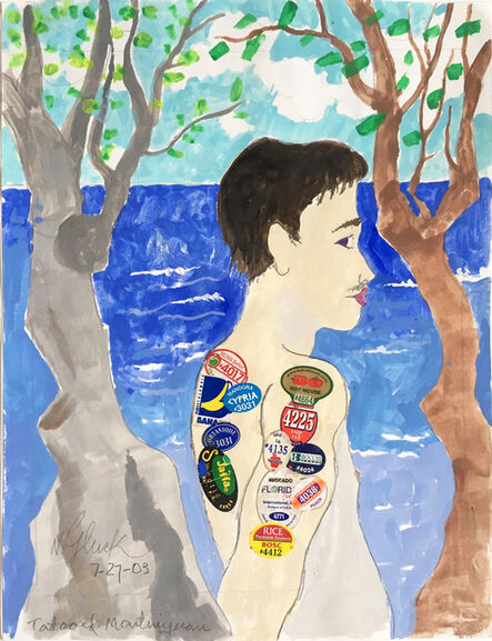 Nathan Gluck, 'Young Tattooed Martinquan', 2003