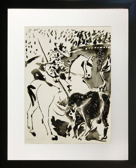 Pablo Picasso, 'Picador et Taureau (Picasor and Taurus)', 1949
