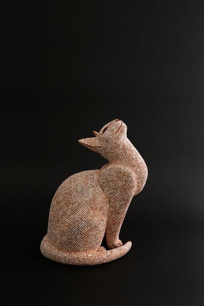 Mokichi Otsuka, 'Hoping cat', 2017