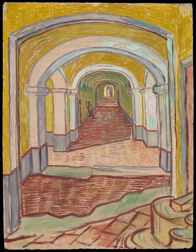 Vincent van Gogh, 'Corridor in the Asylum', 1889