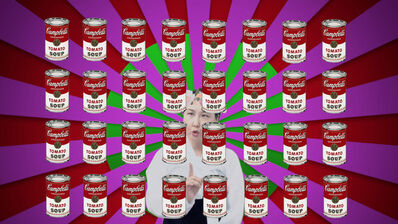 Mina Cheon, 'Art History Lesson 2 What is Art, What is Life? Part 2 (Art and Food) Part 1', 2017