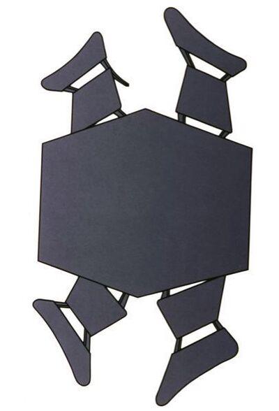 Regina Silveira, 'Mesa com Cadeiras 1', 1989