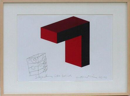 Matt Mullican, 'Untitled (Subjective into solid)', 1995-1996