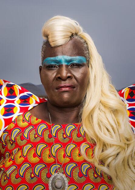 Osborne Macharia, 'Magadi Portrait 4', 2017