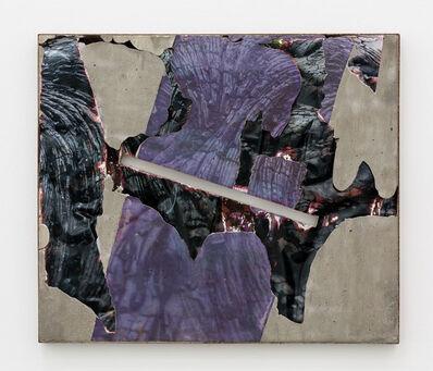 Letha Wilson, 'Kona Lava Black Slash (Steel)', 2015