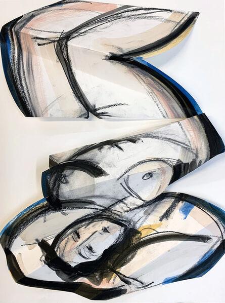 Heidi Lanino, 'Folded Female; Upside down', 2020