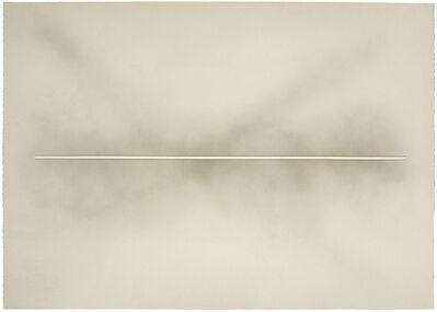 De Wain Valentine, 'Skyline (Black with White Line)', 1991
