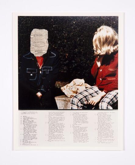Lynn Hershman Leeson, 'Blaine and Transcription', 1975