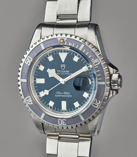 Tudor, 'A rare and well-preserved stainless steel divers' wristwatch with bracelet and original presentation box', 1970