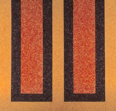 Howard Mehring, 'Cadmium Double', 1963