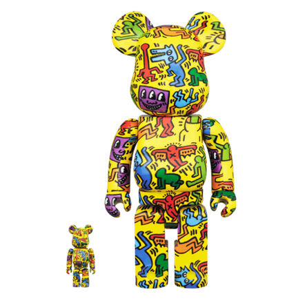 Keith Haring, 'Be@rbrick 'Haring's Figures'', 2020