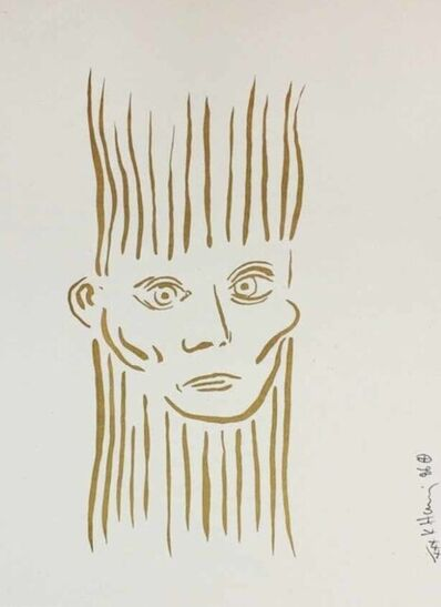 Keith Haring, 'Portrait of Joseph Beuys – Deluxe Edition ', 1986