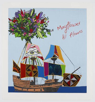 Yinka Shonibare CBE, 'Mayflower, All Flowers', 2020