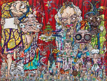 Takashi Murakami, 'Isle of the Dead', 2014