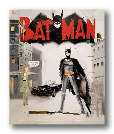 Chuck Joseph, 'Batman Cover 1', ca. 2018