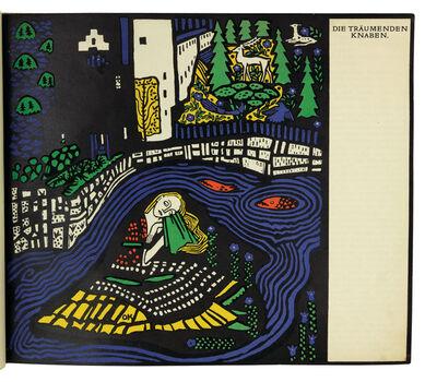 Oskar Kokoschka, 'Die Träumenden Knaben', 1908
