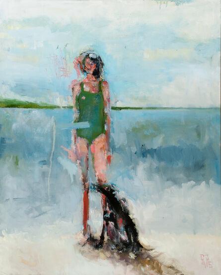 Devorah Jacoby, 'Woman with Dog', 2015
