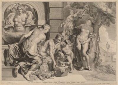 Pieter van Sompel after Sir Peter Paul Rubens, 'Erichthonius in His Basket'