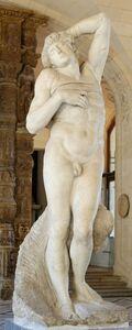 Michelangelo Buonarroti, 'Dying slave, for the tomb of Pope Julius II - Giuliano della Rovere - (1443-1513)', 1589