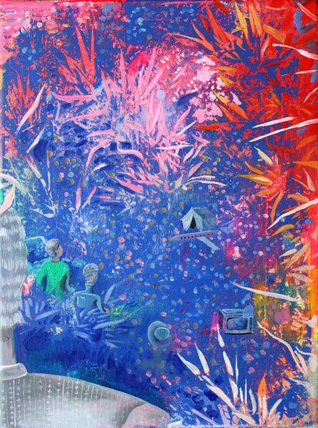Xiong Yu, 'Bamboo grove series'