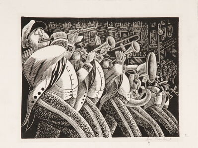 Lou Barlow, 'Marching Band (Here comes the Parade)', ca. 1930