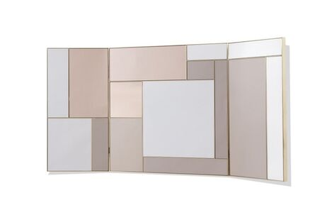 Hervé Langlais, 'Triptyque mirror', 2016