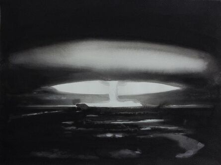 """Radenko Milak, '30 October 1961 Nuclear testing: The Soviet Union detonates the hydrogen bomb Tsar Bomba over Novaya Zemlya; at 50 megatons of yield, it is still the largest explosive device ever detonated, nuclear or otherwise, from the series """"365""""', 2013"""