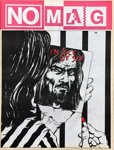Raymond Pettibon, 'Raymond Pettibon 1980s illustration art (Pettibon No Mag)', 1981