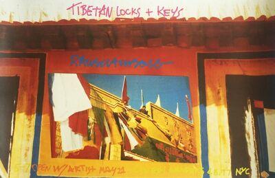 Robert Rauschenberg, 'Tibetan Locks & Keys (Leo Castelli Gallery/Castelli Graphics) ', 1986