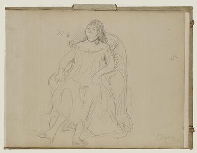 Edgar Degas, 'Prostitute', 1877