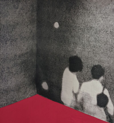 Lorraine Heller-Nicholas, 'Corner red', 2018