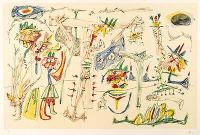 Roberto Matta, 'Crucifixion', 1979